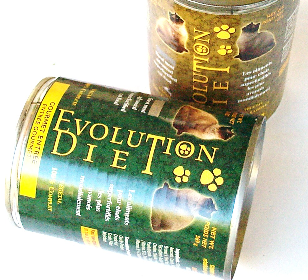 Vegan Cat Food from Evolution